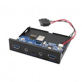 i-tec USB-C / USB 3.0 Internal Front panel with Audio