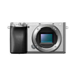 Sony A6100L ILCE tělo, 24,2Mpix/4K, stříbrný