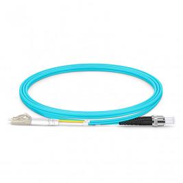 Optický patch cord Duplex LC-ST 50/125 2m OM4