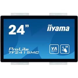 "24"" iiyama TF2415MC-B2: VA, FullHD, capacitive, 10P, 350cd/m2, VGA, DP, HDMI, černý"