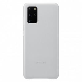 Samsung Kožený kryt pro S20+ Light Gray