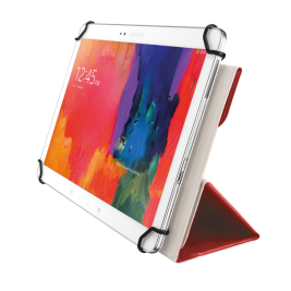 "TRUST Aexxo Universal Folio Case for 10.1"" tablets - red"