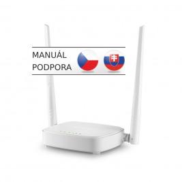 Tenda N301 WiFi-N 300Mb Router, 3xLAN,1xWAN,2x5dBi