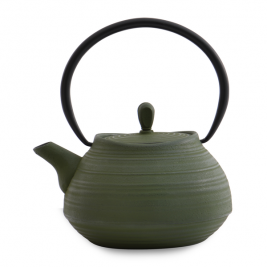 Liatinový čajník Studio tmavozelený Typ: A