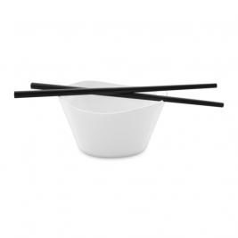 Porcelánová miska Eclipse na ryžu s paličkami 0,3l 2ks