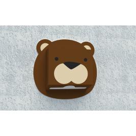 Zásobník na papierové utierky - Medveď