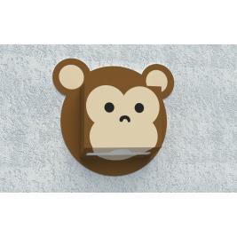 Zásobník na papierové utierky - Opica