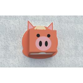 Zásobník na papierové utierky - Prasa