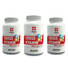 Cross Vitamin Multi + Bio Zázvor 3 x 90 kapsúl