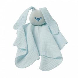 Hračka maznáčik bavlnený Lapidou aqua blue 44x44 cm