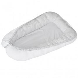 Hniezdo pre bábätko obojstranné White-Gray 90x60cm