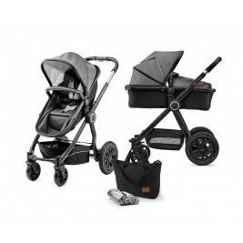 Kočík kombinovaný Veo black/grey 2v1 Kinderkraft