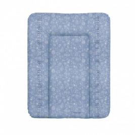 Podložka prebaľovacia na komodu mäkká 70x50 cm Denim Style Boho blue Ceba