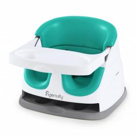 Podsedák na jedálenskú stoličku 2v1 Baby Base Ultramarine Green 6m+, do 22kg