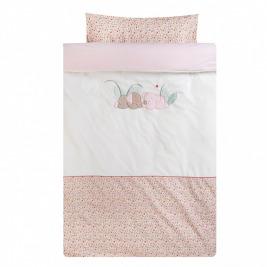Obliečky na posteľ 100 x 140 a 40 x 60 cm IL