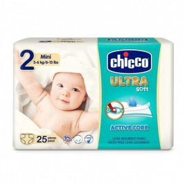 Plienky Chicco Ultra Mini 3-6kg 25ks