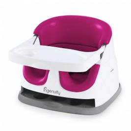 Podsedák na jedálenskú stoličku 2v1 Baby Base Pink Flambe 6m+, do 22kg