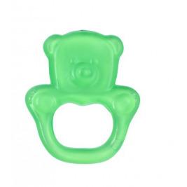 Hryzačka chladiaca gélová medveď- zelená