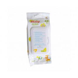 Obrúsky antibakteriálne All Natural 48ks