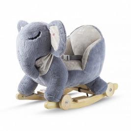 Hojdačka s melódiou elephant gray Kinderkraft 2020