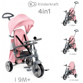 Trojkolka Jazz Pink Kinderkraft