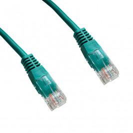 DATACOM Patch cord UTP CAT6 0,25m zelený