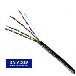 DATACOM UTP drát Cat5e 100m OUTDOOR