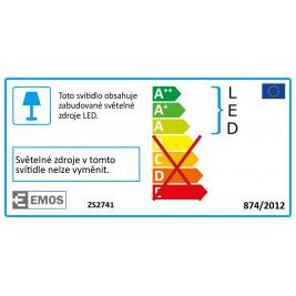 LED REFLEKTOR+PIR IDEO SLIM-50W, 4000 Lum, 4000K