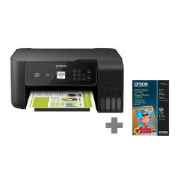 Epson L3160, A4, Wi-Fi , 33ppm, color + 100x Fotopapír + 500x Papír