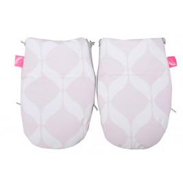 Rukavice na kočík Softshell Classics Pink 1 pár