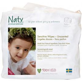 Obrúsky vlhčené detské 3x56ks Naty Nature Babycare