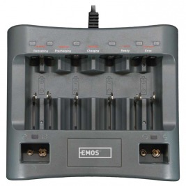 EMOS Univerzální nabíječka baterií BC UNI6A