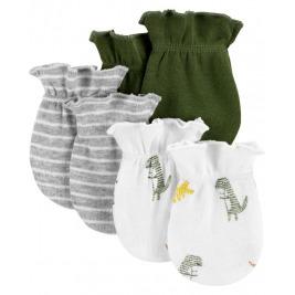 Rukavice kojenecké Dinosaur chlapec LBB 3ks, 0-3m