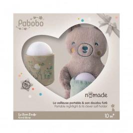 PABOBO Automatické nočné světélko Nomade zajíček Gift Box