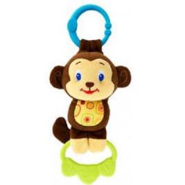 Hračka na C krúžku Tug Tunes s melódiou, 0m+ opica