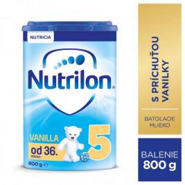 Mlieko dojčenské NUTRILON 5 ProNutra s príchuťou vanilky 800g