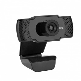 Webkamera C-TECH CAM-07HD, 720P, mikrofon, černá
