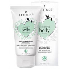 ATTITUDE Prírodný krém na unavené nohy Blooming Belly nielen pre tehotné s mätou 150 ml