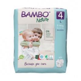 BAMBO Nature Jednorázové plienky 4, 24 ks, pre 7-14 kg