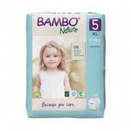 BAMBO Nature Jednorázové plienky 5, 22 ks, pre 12-18 kg