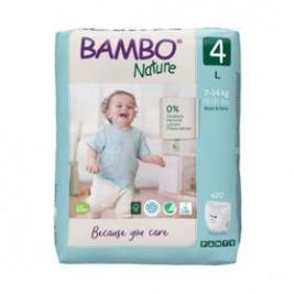 BAMBO Nature Pants 4 Plienkové nohavičky, 20 ks, pre 7-14 kg