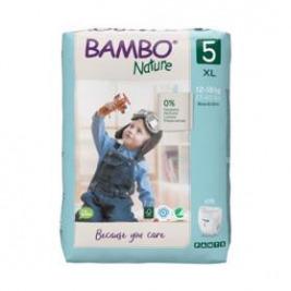 BAMBO Nature Pants 5 Plienkové nohavičky, 19 ks, pre 12-18 kg