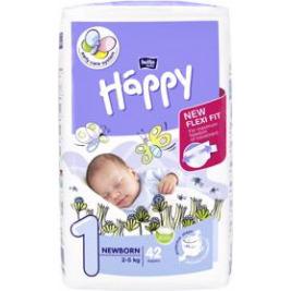 BELLA HAPPY Newborn 1 (2-5 kg) 42 ks – jendnorázové plienky
