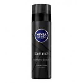 NIVEA MEN Pena na holenie Deep 200 ml