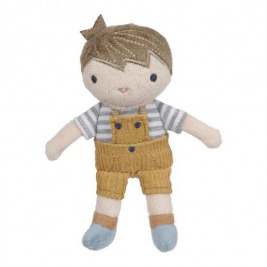 LITTLE DUTCH Bábika Jim 10 cm