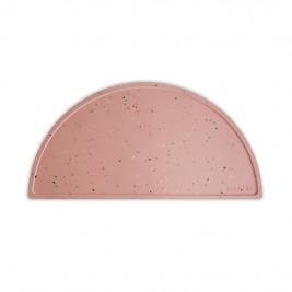 MUSHIE Silikónové prestieranie Pink Confetti