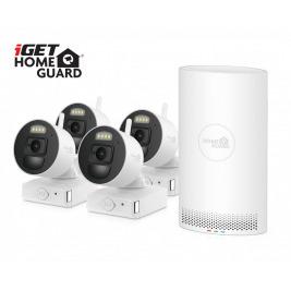 iGET HGNVK88004P - bateriový bezdrátový WiFi set FullHD 1080p, 8CH NVR + 4x FullHD kamera, aplikace