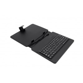"AIREN AiTab Leather Case 2 with USB Keyboard 8"" BLACK (CZ/SK/DE/UK/US.. layout)"