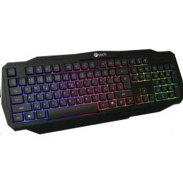 C-TECH Herní klávesnice Arcus (GKB-15) CZ/SK, duhové podsvícení, USB