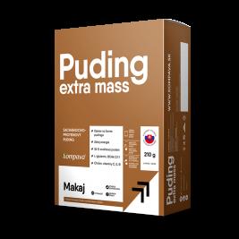 Extra Mass Puding kartón /6 x 35 g/6 dávok, vanilka-čokoláda